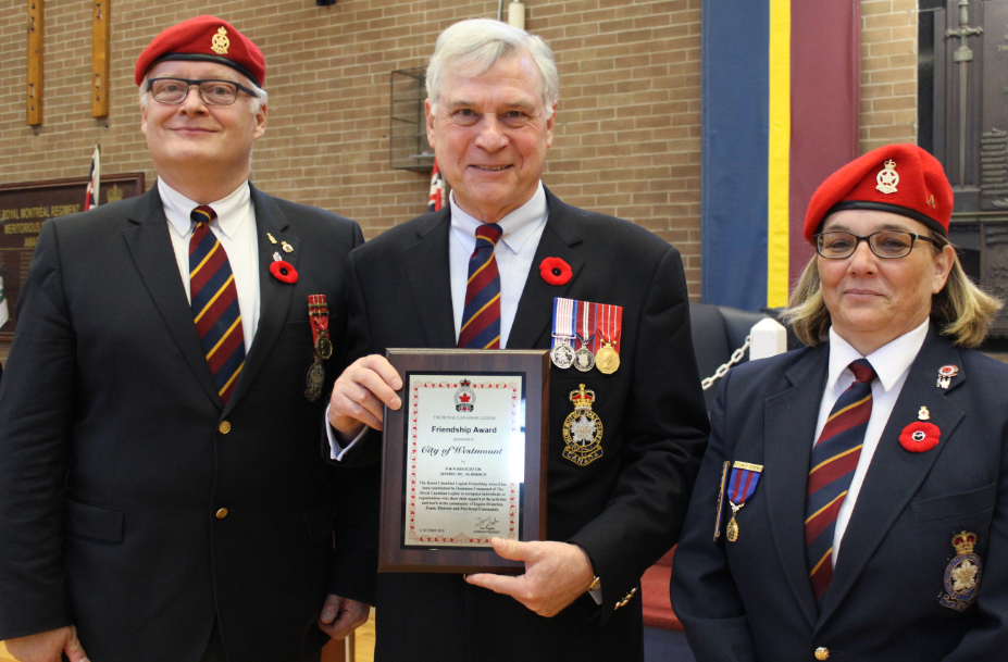 Legion Friednship Award
