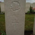 2013 06 28 Capt Steacie grave marker