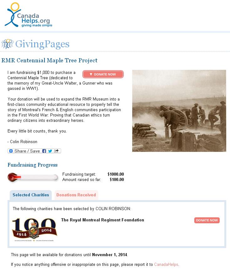 GivingPage example
