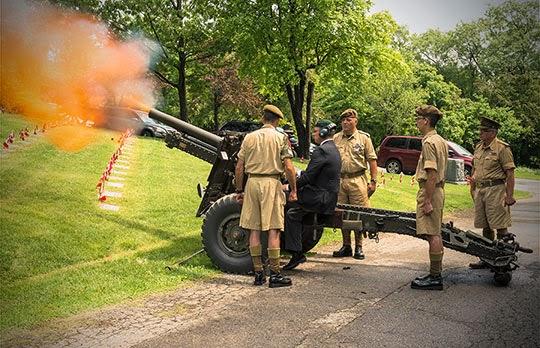 3 BAM Gun Crew