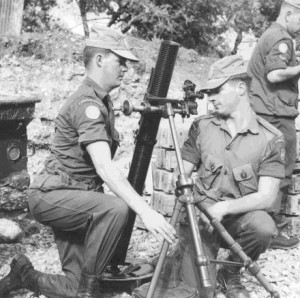 Canadian 81 mm Mortar Crew in Cyprus
