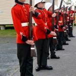 Argonaut Ceremonial Quarter Guard for BGen Romses