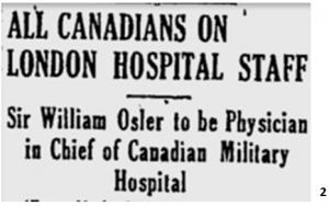 CANADIAN MILITARY HOSPITAL, LONDON