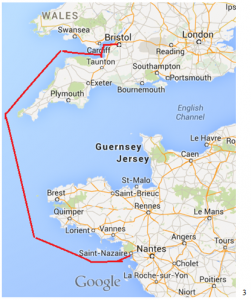 RMR's Sea Journey to France