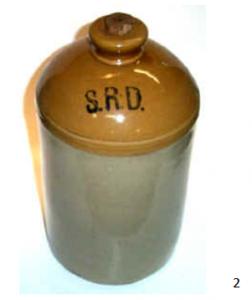 First World War Rum Jar