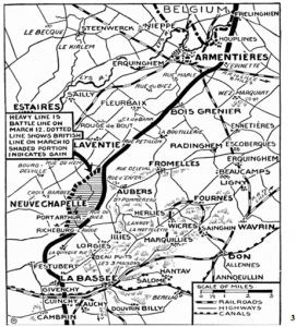 THE BATTLE OF NEUVE-CHAPELLE March 10-12, 1915   -   A Learning Process for Canadians