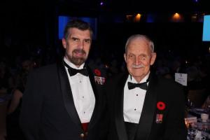 Maj Dave Anderson (Left), Maj James Anderson