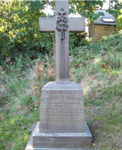 Private Denman's gravemarker