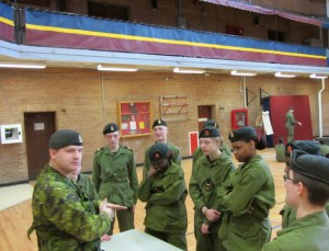 Cadets Briefing