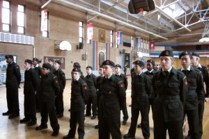 Cadets on Parade Square