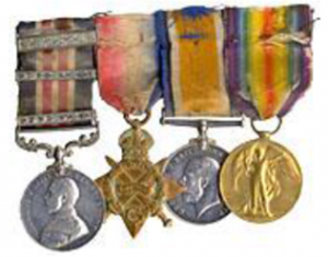 Corporal Francis Pegahmagabow's medals