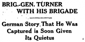 General Turner is well and with his brigade