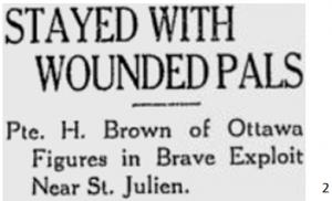 St. Julien Gas attack at Ypres