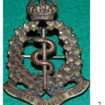 Canadian Army Medical Corps capbadge from First World War