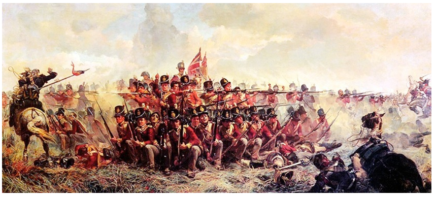 Battle of Waterloo square