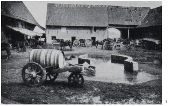 La Grande Munque Farm, Ploegsteert, 1915