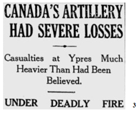 Heavy artillery losses