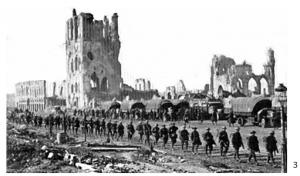 RMR history cloth hall Ypres