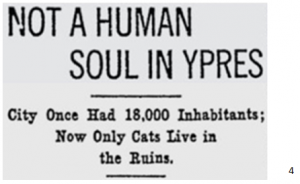Ypres destroyed