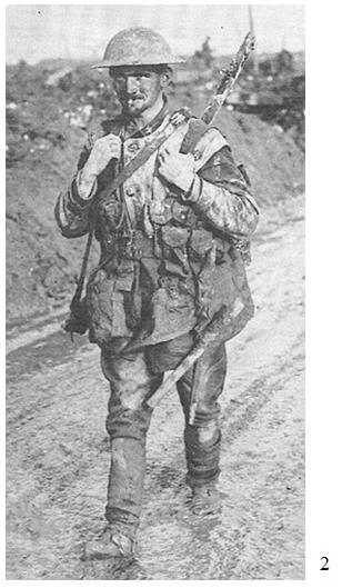 RMR history muddy soldier