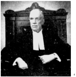 CHIEF JUSTICE WILLIAM BRIDGES SCOTT