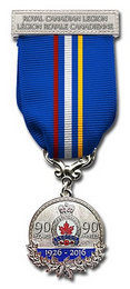 90th anniversary medal that is approved for Legion members