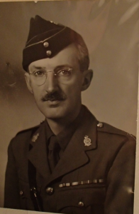 LCol Brewer wearing open collar
