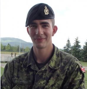Corporal Erik Schneider