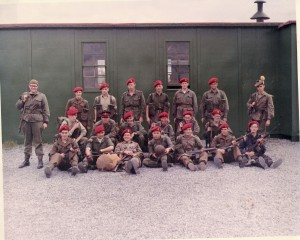 RMR rifle team in Farnham, 1970