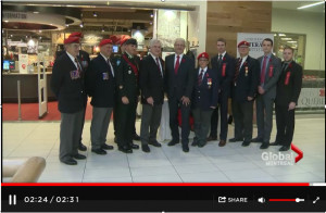 Launch of 2015 Poppy Campaign in Westmount
