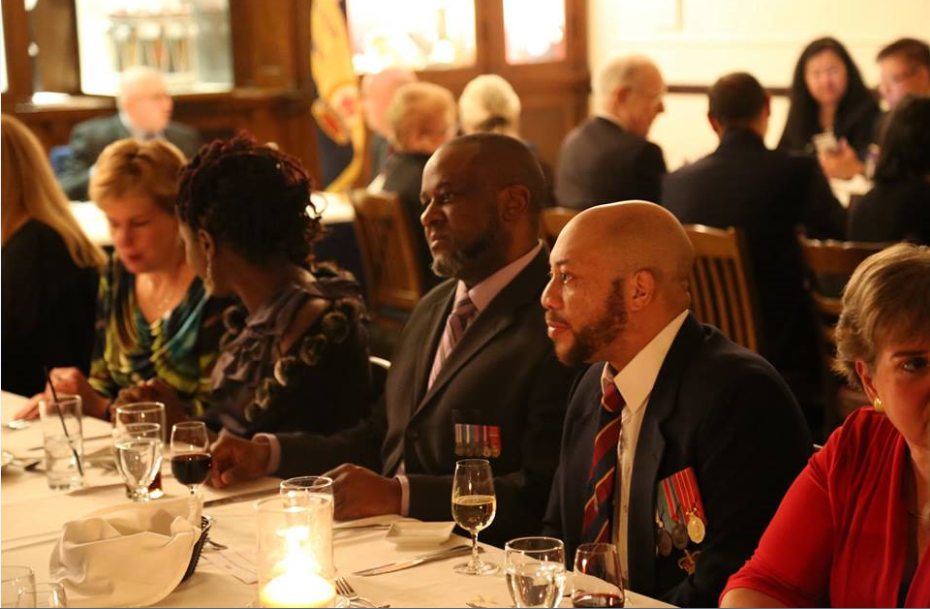 Members and guests enjoying the 80th anniversary dinner. Photo credit: Gary Donovan