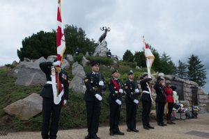 Beaumont-Hamel NFLD Memorial, Combat Camera