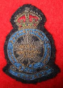 officers' beret badge, gold & silver bullion, 1940s-1950s,