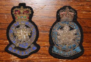officer beret badges, gold & silver bullion, 1960s-1970s
